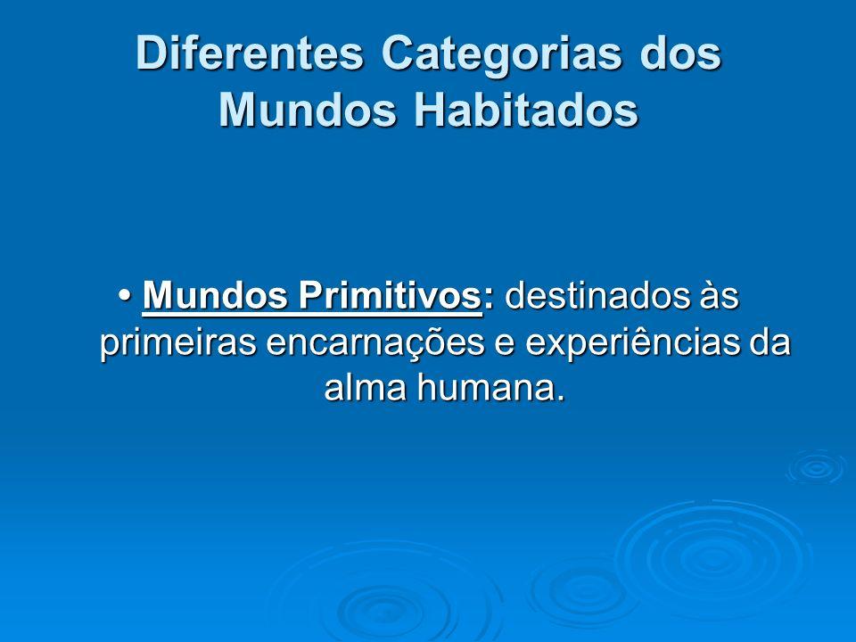 Diferentes Categorias dos Mundos Habitados