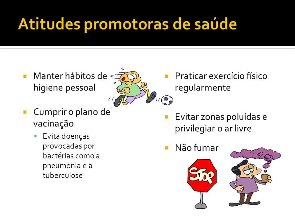 Atitudes promotoras de saúde