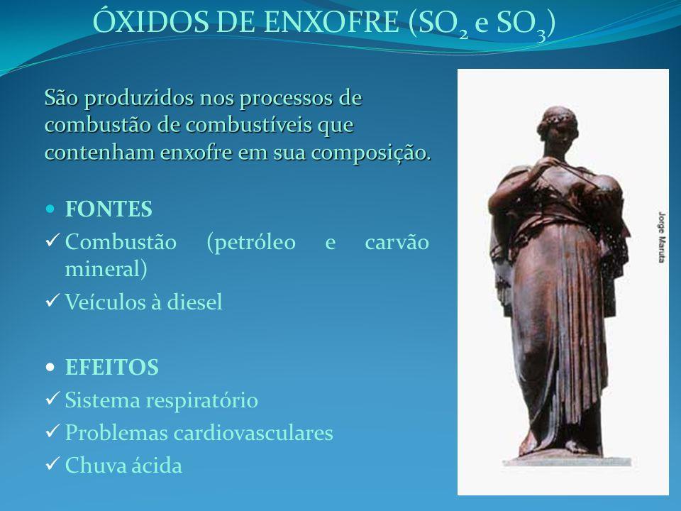 ÓXIDOS DE ENXOFRE (SO2 e SO3)