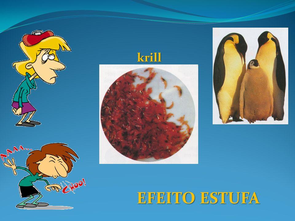 krill EFEITO ESTUFA