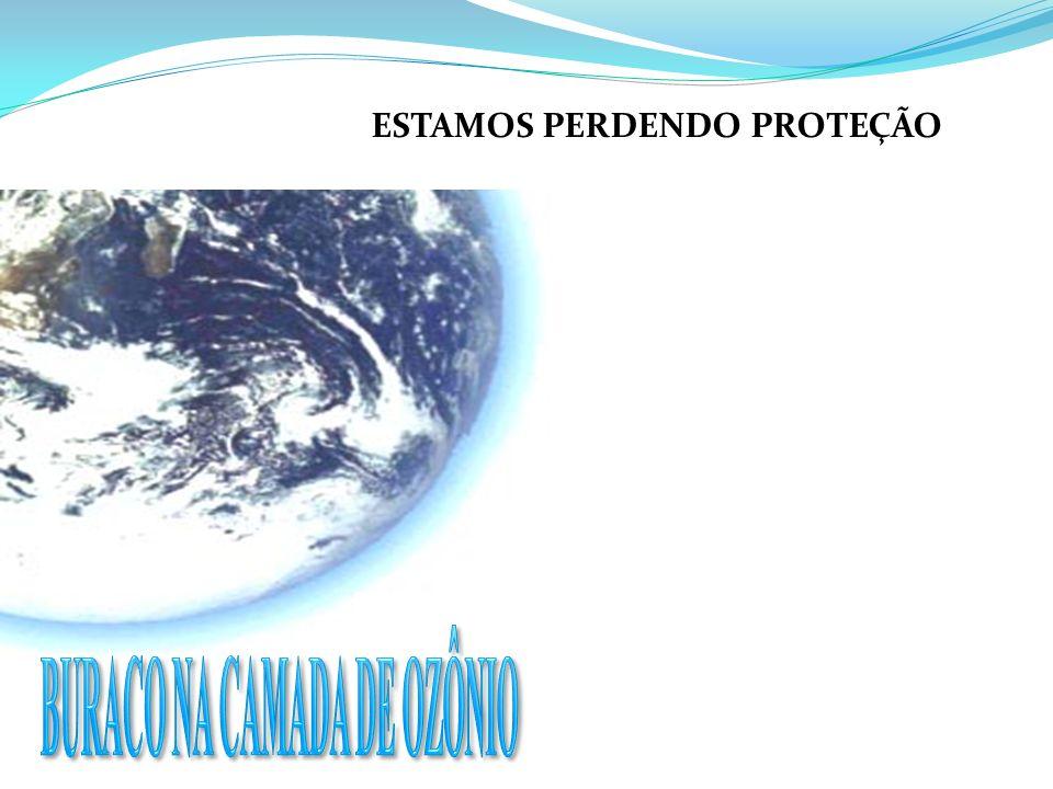 ESTAMOS PERDENDO PROTEÇÃO BURACO NA CAMADA DE OZÔNIO