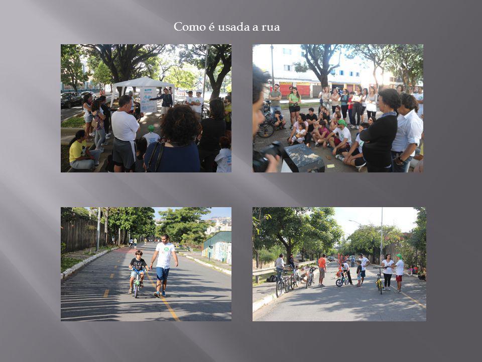 Como é usada a rua
