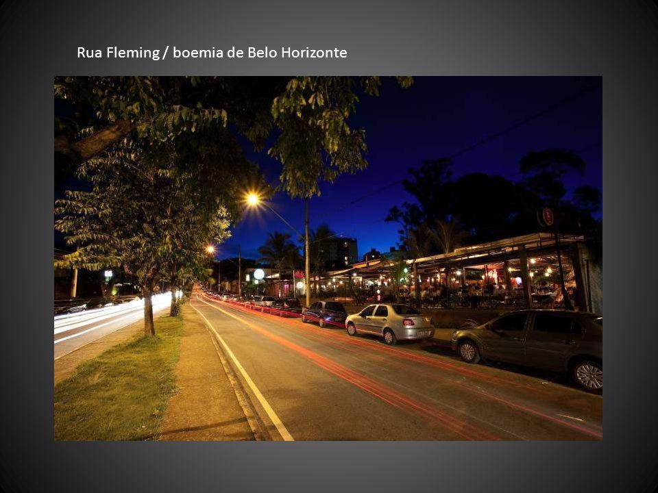 Rua Fleming / boemia de Belo Horizonte