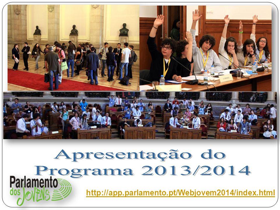 Apresentação do Programa 2013/2014