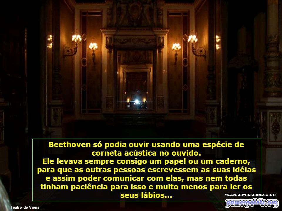 Beethoven só podia ouvir usando uma espécie de