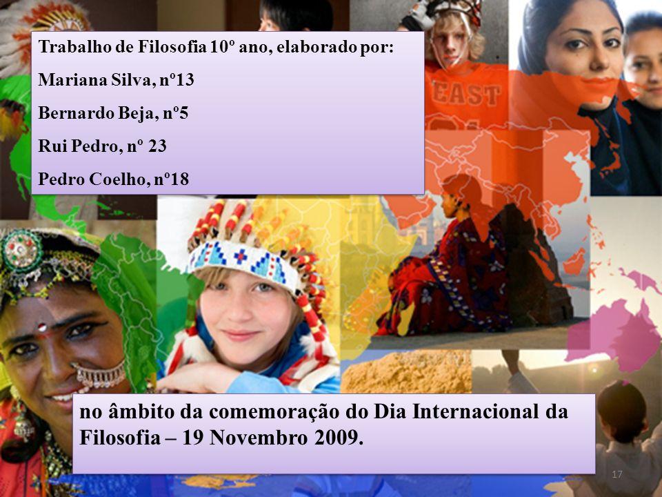 no âmbito da comemoração do Dia Internacional da