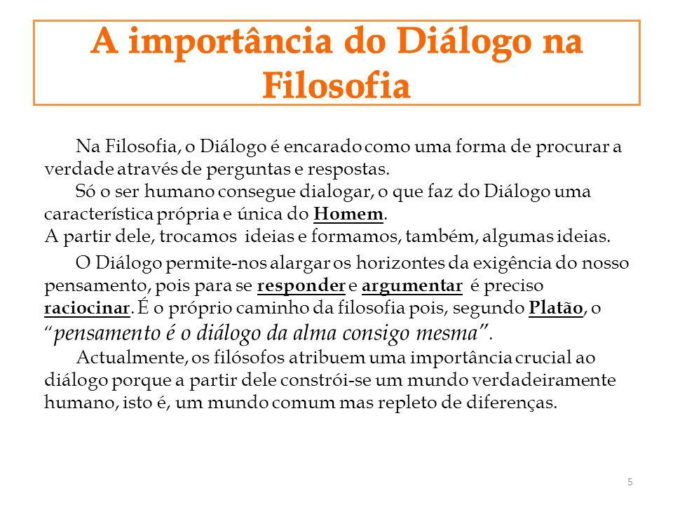 A importância do Diálogo na Filosofia