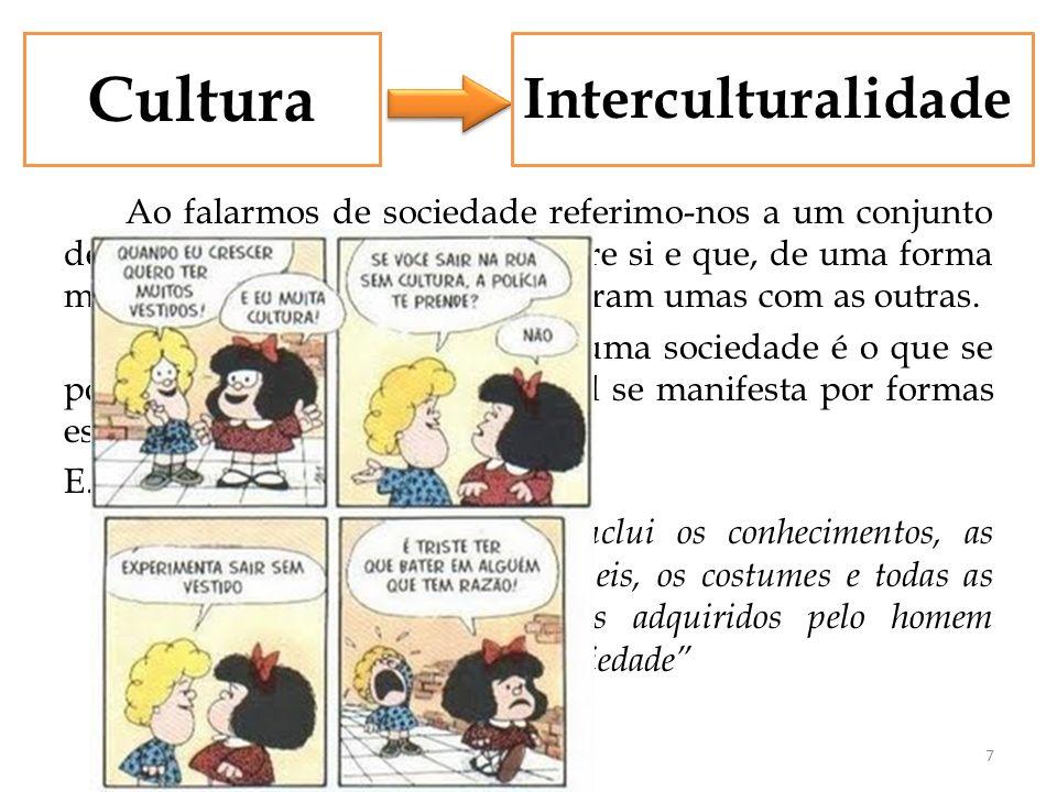Cultura Interculturalidade