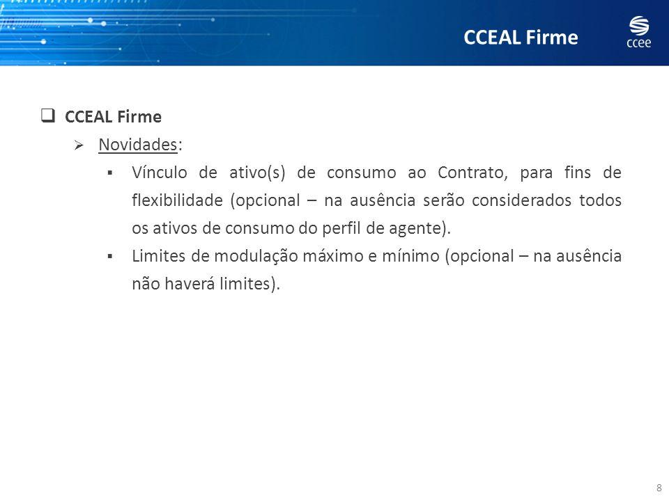 CCEAL Firme CCEAL Firme Novidades: