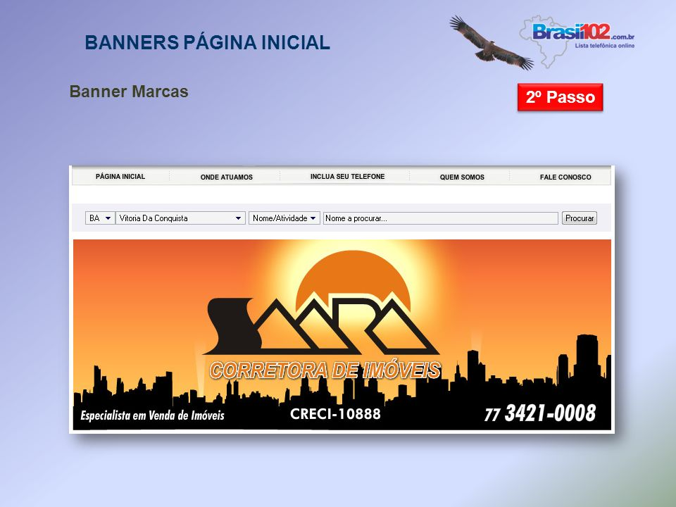 BANNERS PÁGINA INICIAL