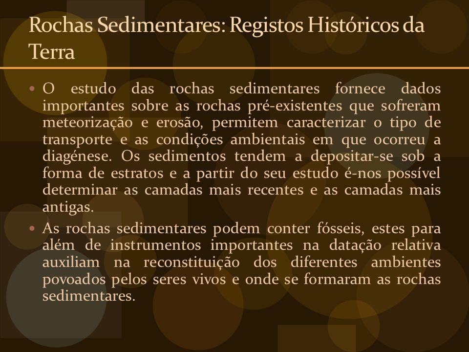 Rochas Sedimentares: Registos Históricos da Terra