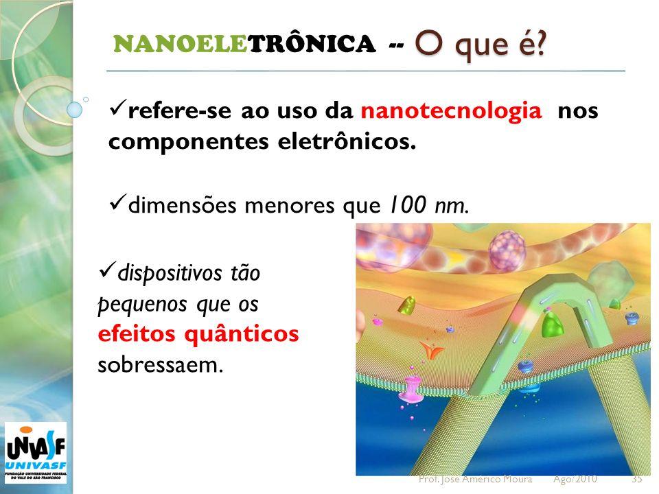 O que é NANOELETRÔNICA --