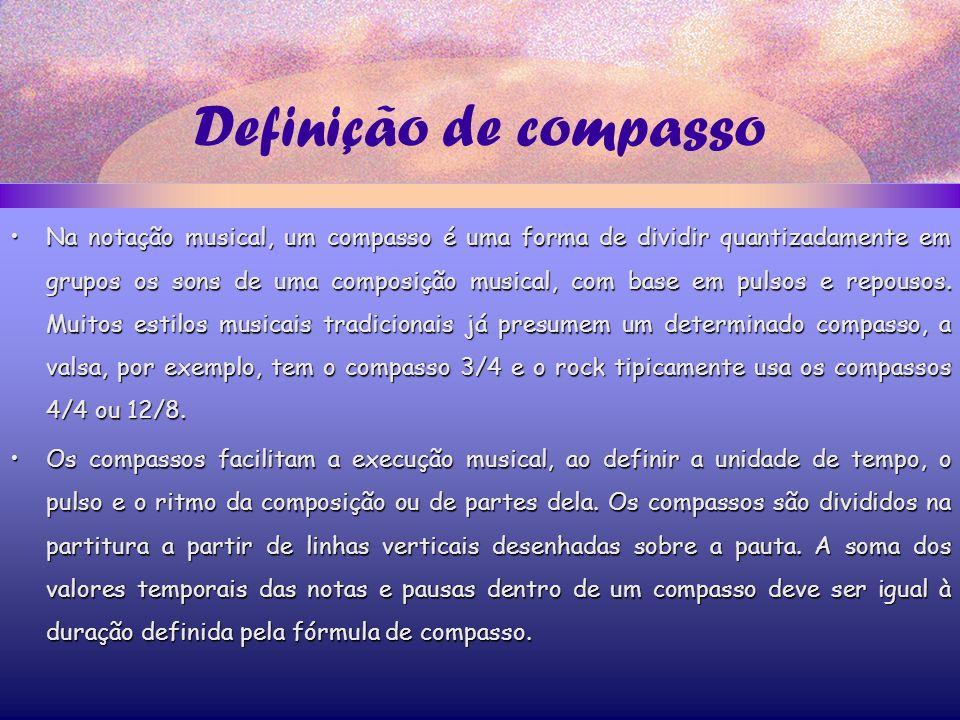 Definição de compasso