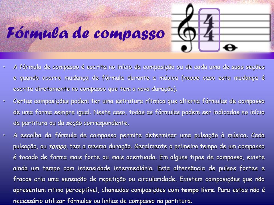 Fórmula de compasso