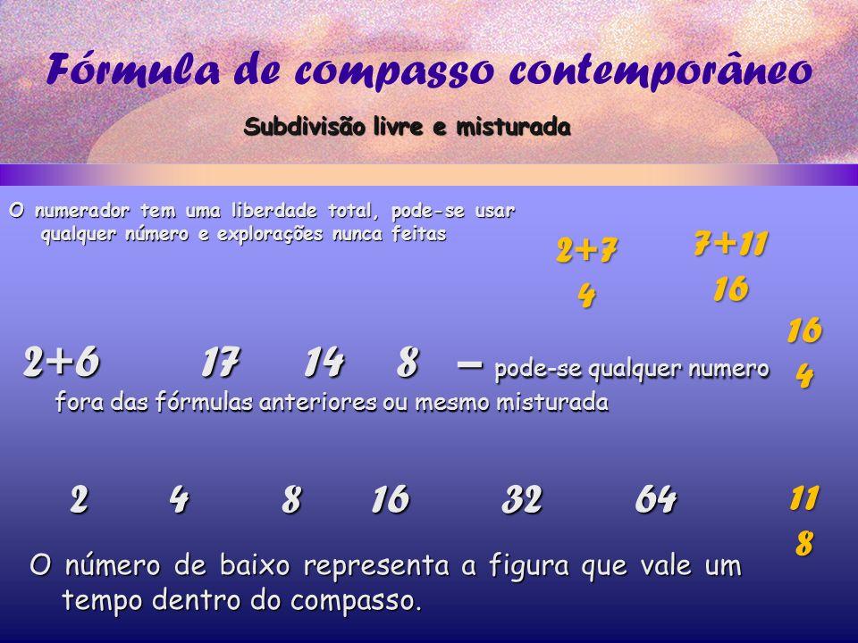 Fórmula de compasso contemporâneo