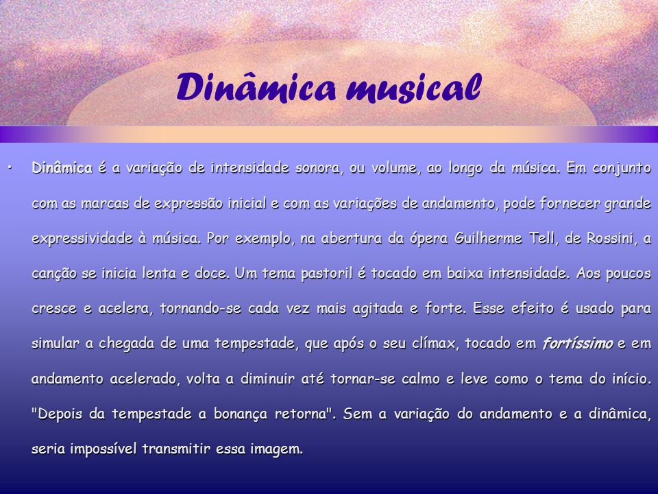 Dinâmica musical