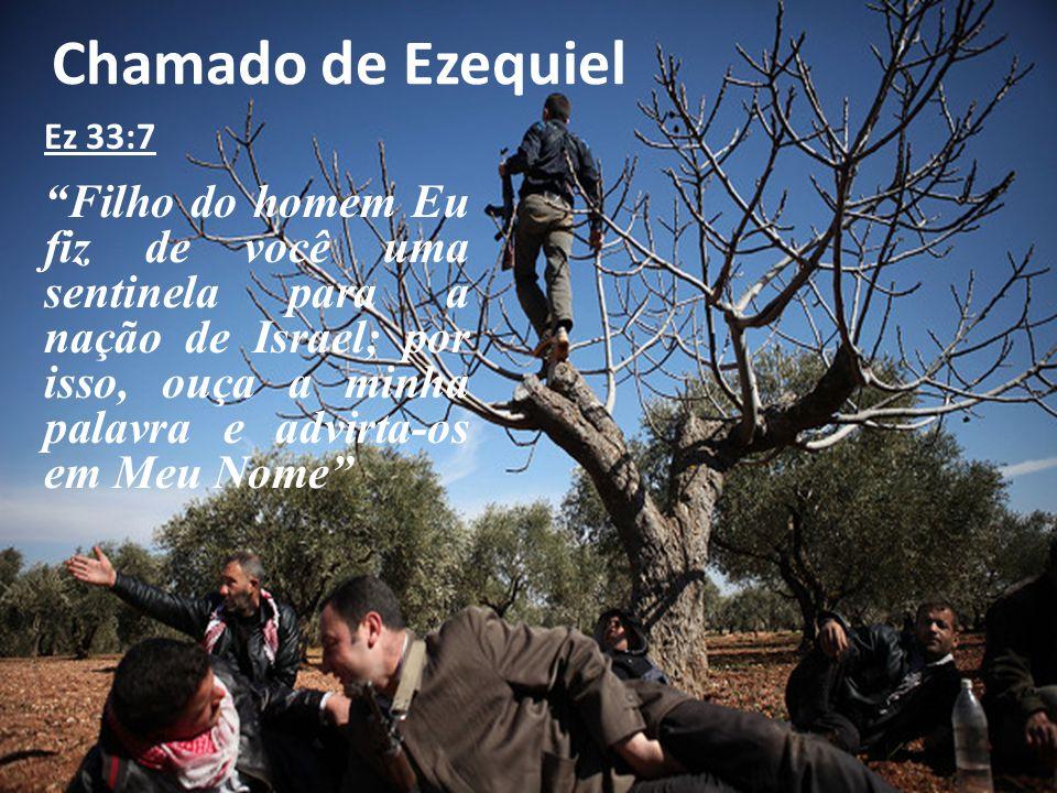 Chamado de Ezequiel Ez 33:7.