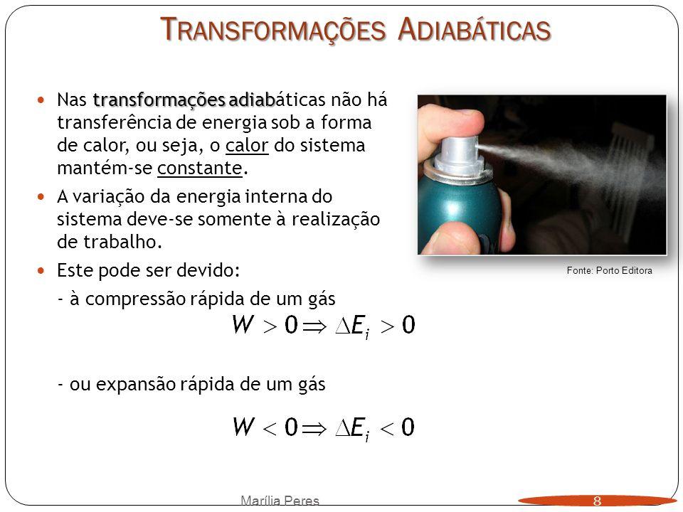 Transformações Adiabáticas