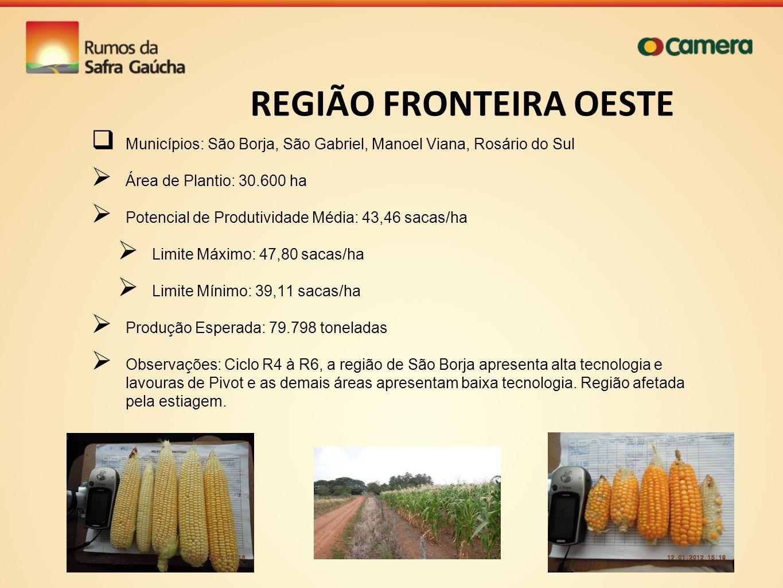 REGIÃO FRONTEIRA OESTE