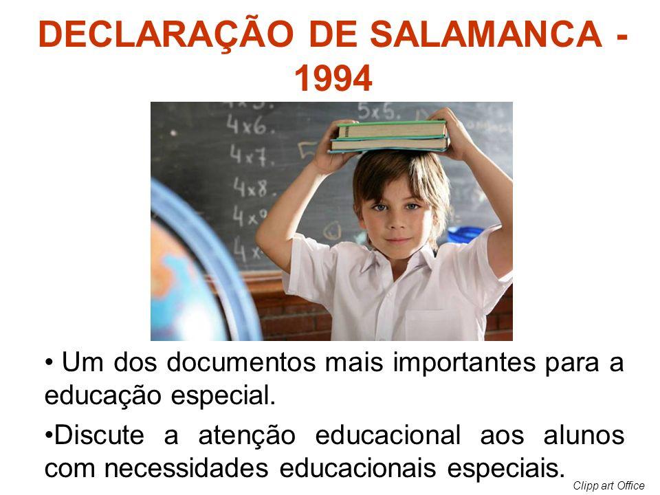 DECLARAÇÃO DE SALAMANCA - 1994