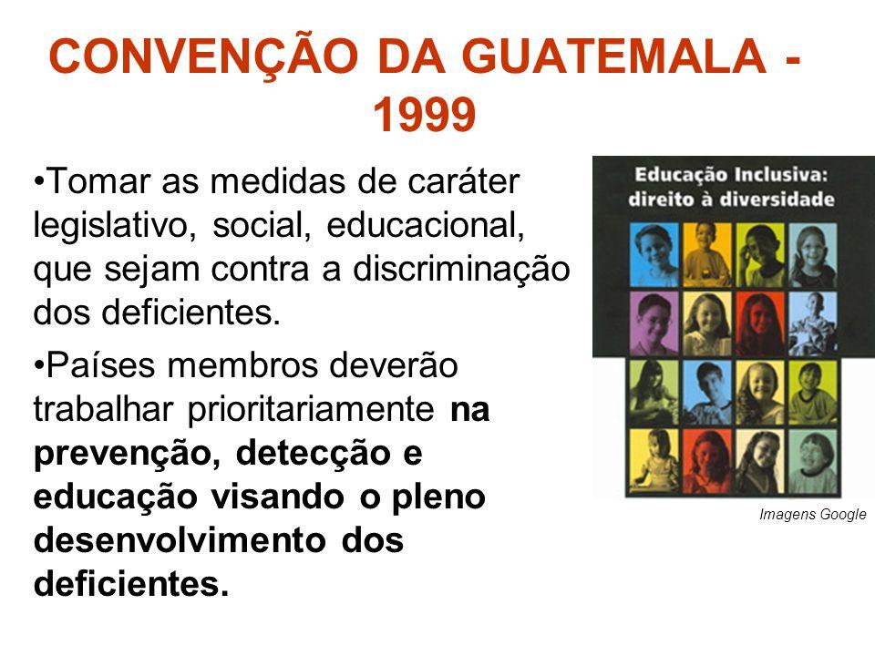 CONVENÇÃO DA GUATEMALA - 1999