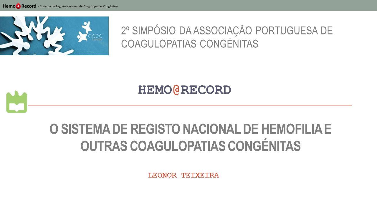 2º Simpósio da Associação Portuguesa de Coagulopatias Congénitas