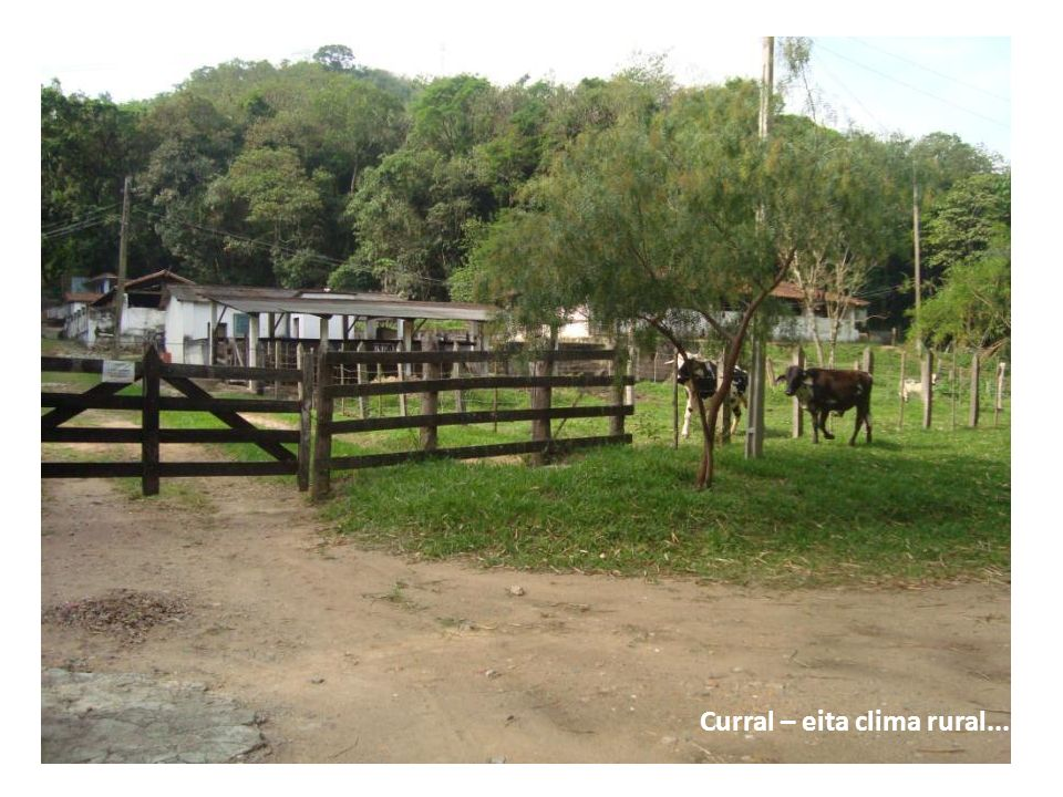 Curral – eita clima rural...