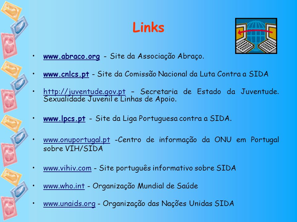 Links www.abraco.org - Site da Associação Abraço.