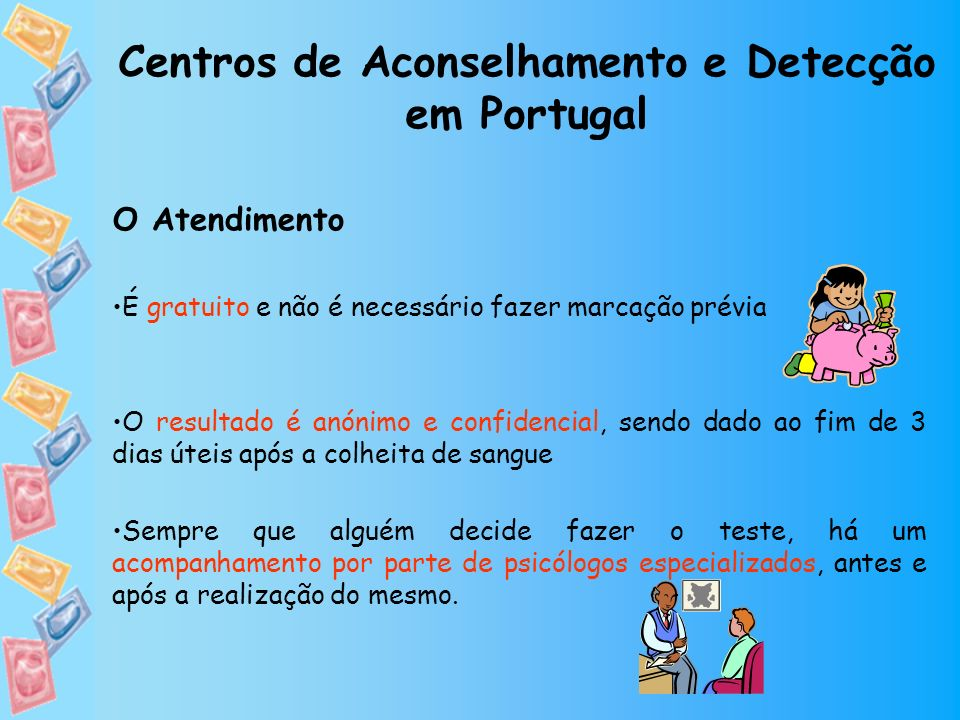 Centros de Aconselhamento e Detecção em Portugal