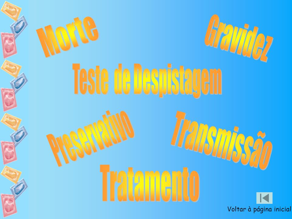 Morte Gravidez Teste de Despistagem Preservativo Transmissão