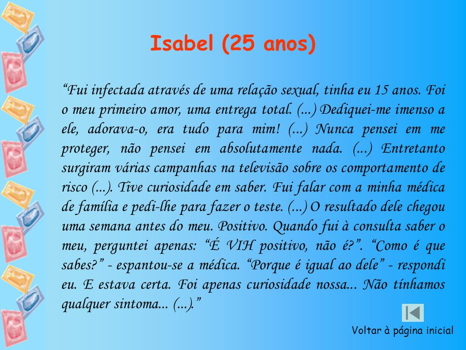 Isabel (25 anos)