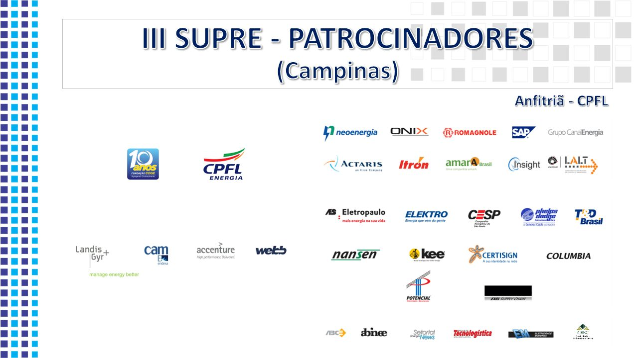 III SUPRE - PATROCINADORES (Campinas)