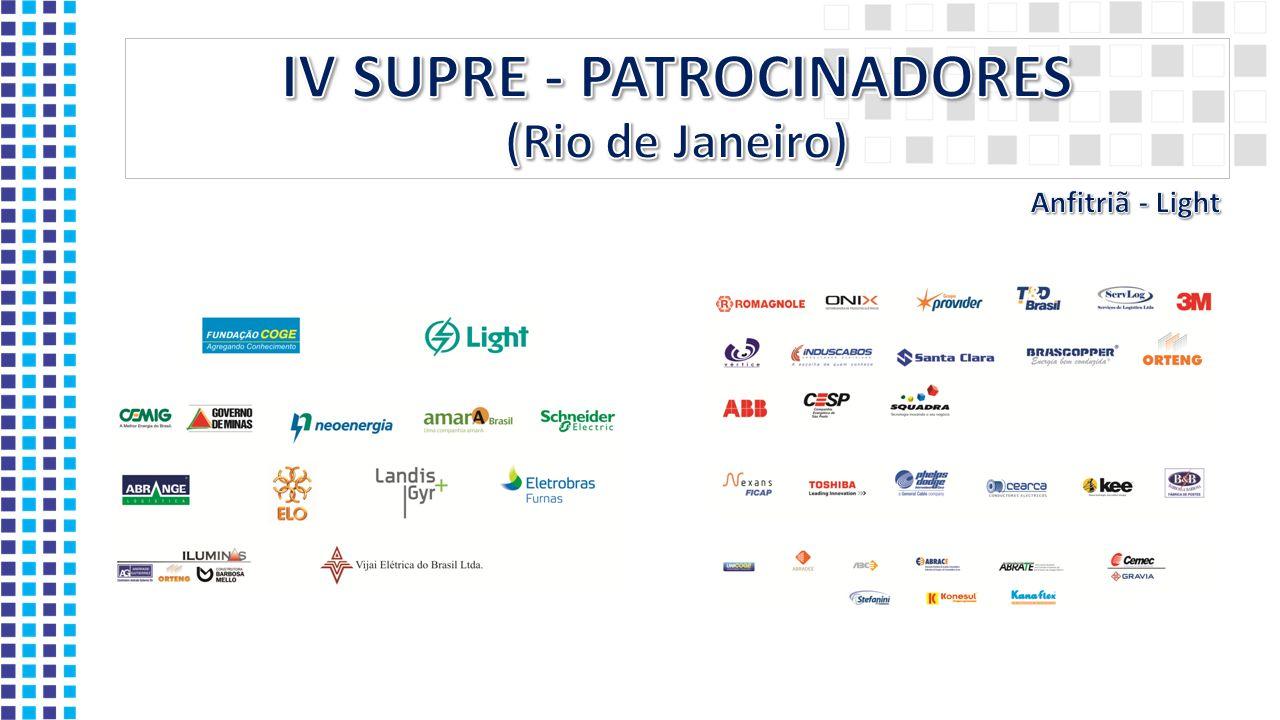 IV SUPRE - PATROCINADORES (Rio de Janeiro)