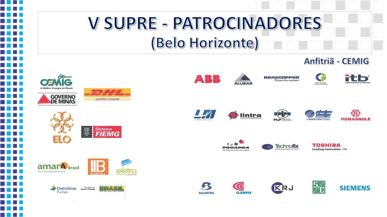 V SUPRE - PATROCINADORES (Belo Horizonte)