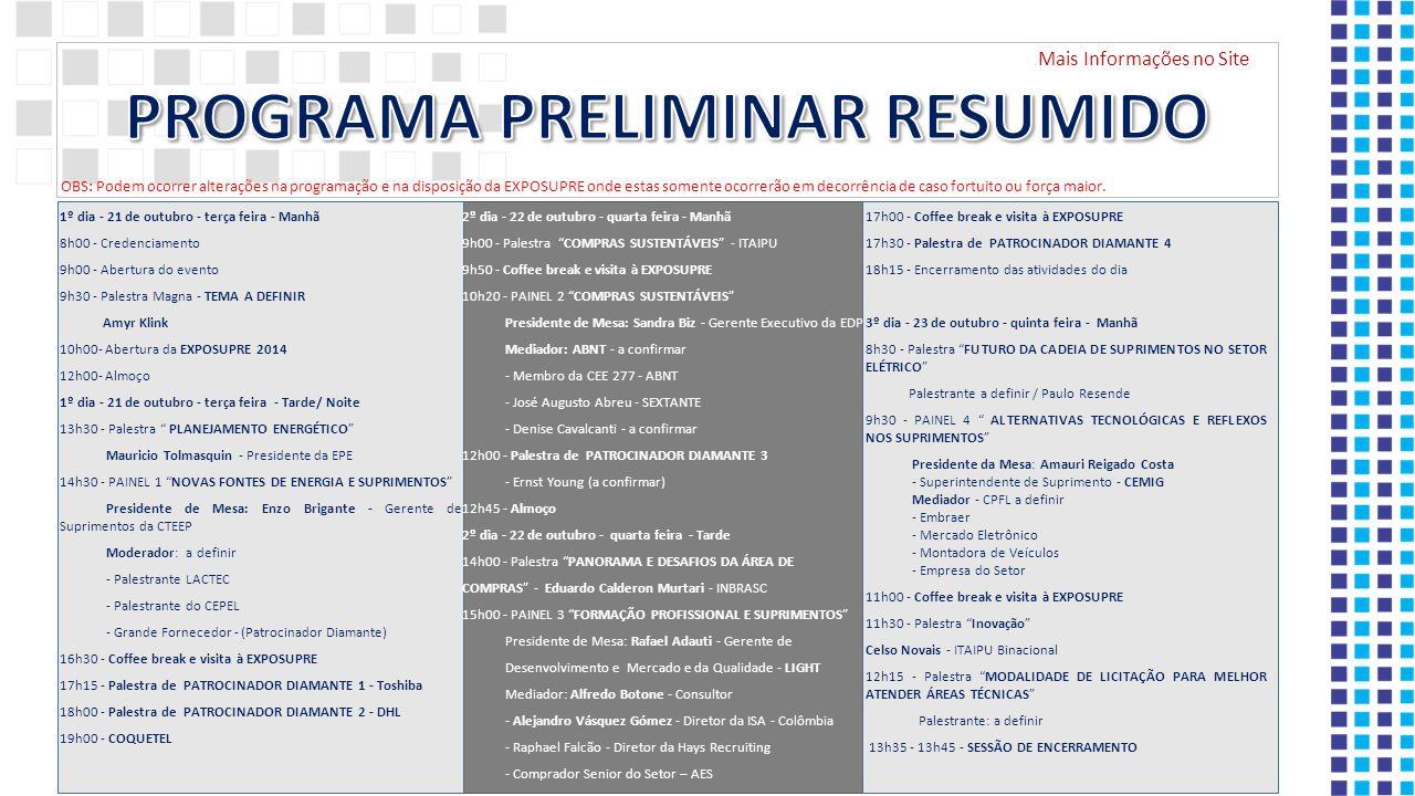 PROGRAMA PRELIMINAR RESUMIDO