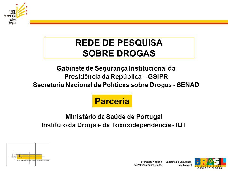 REDE DE PESQUISA SOBRE DROGAS