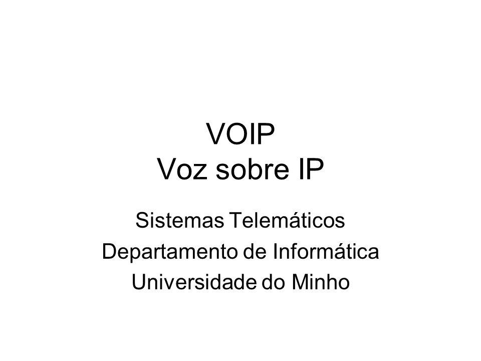 Sistemas Telemáticos Departamento de Informática Universidade do Minho