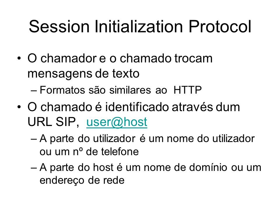 Session Initialization Protocol