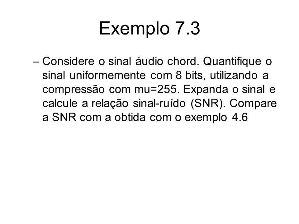 Exemplo 7.3