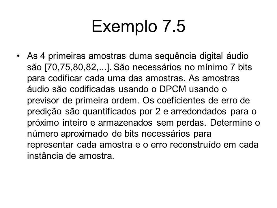 Exemplo 7.5