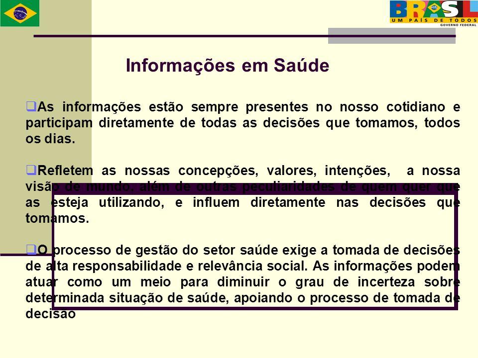 Informações em Saúde