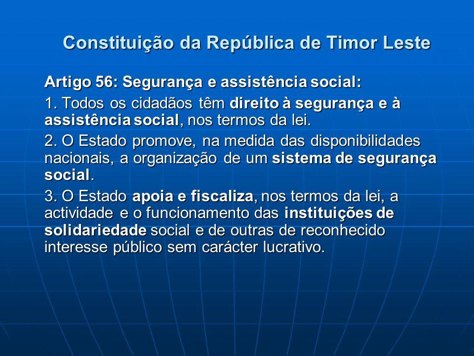 Constituição da República de Timor Leste