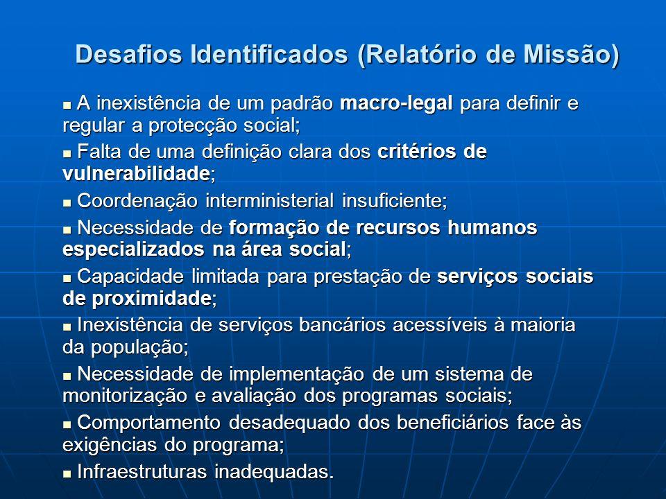 Desafios Identificados (Relatório de Missão)