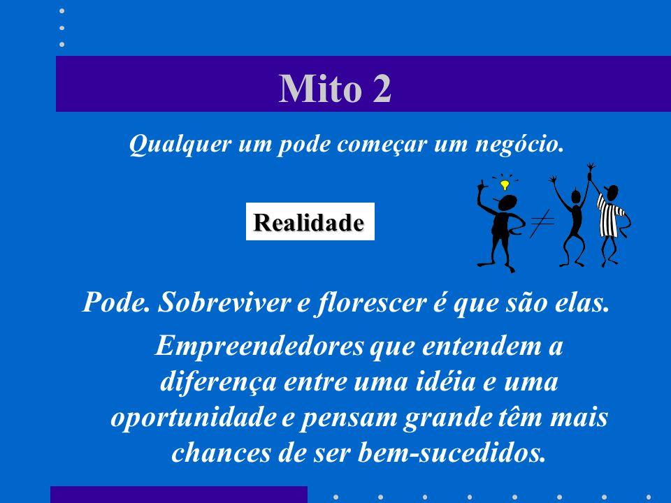 Mito 2 Pode. Sobreviver e florescer é que são elas.