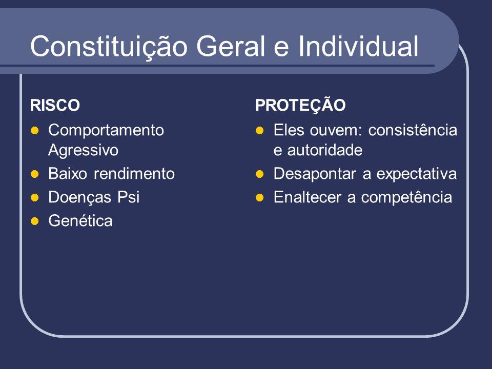 Constituição Geral e Individual