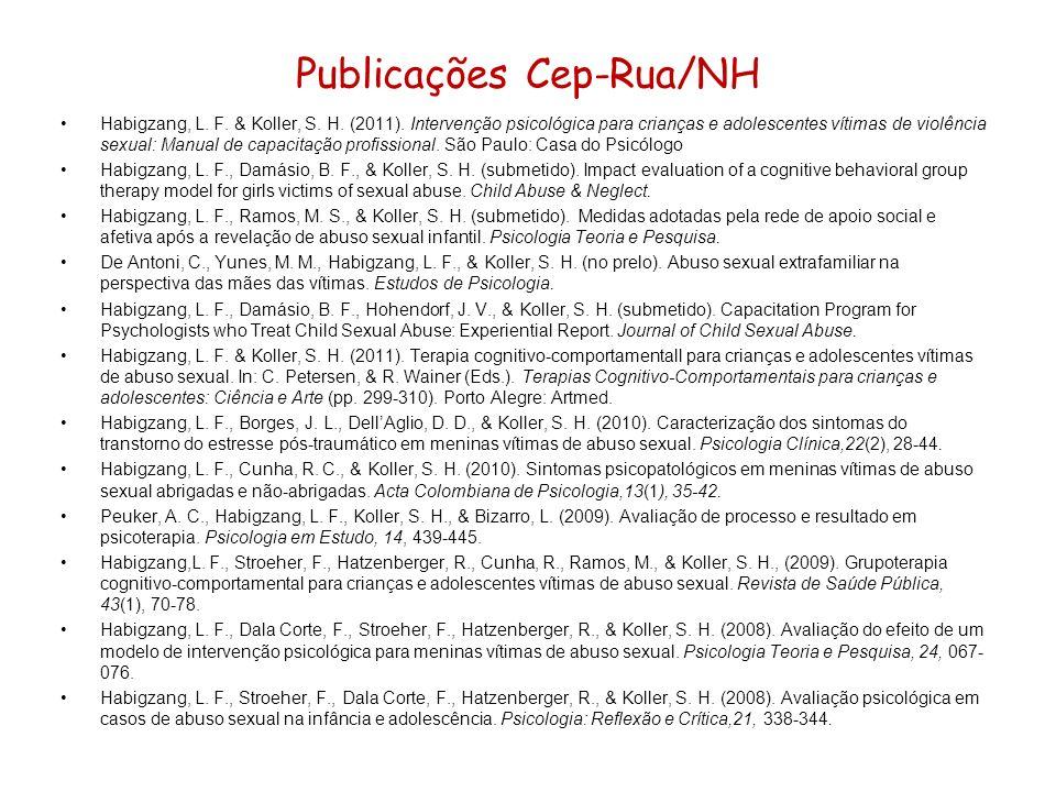 Publicações Cep-Rua/NH