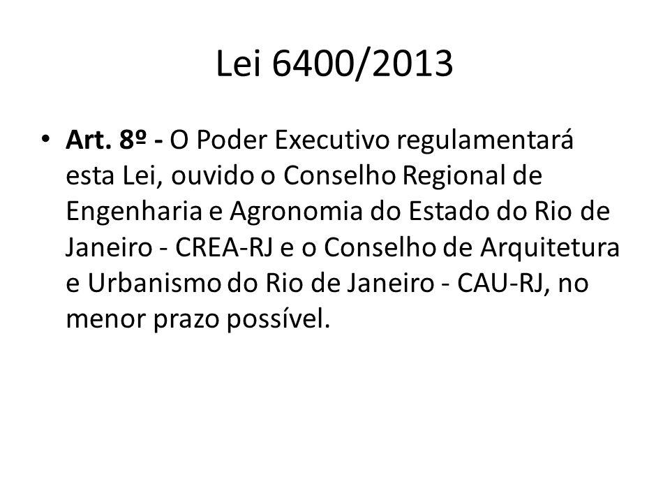 Lei 6400/2013
