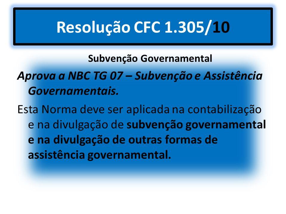 Subvenção Governamental