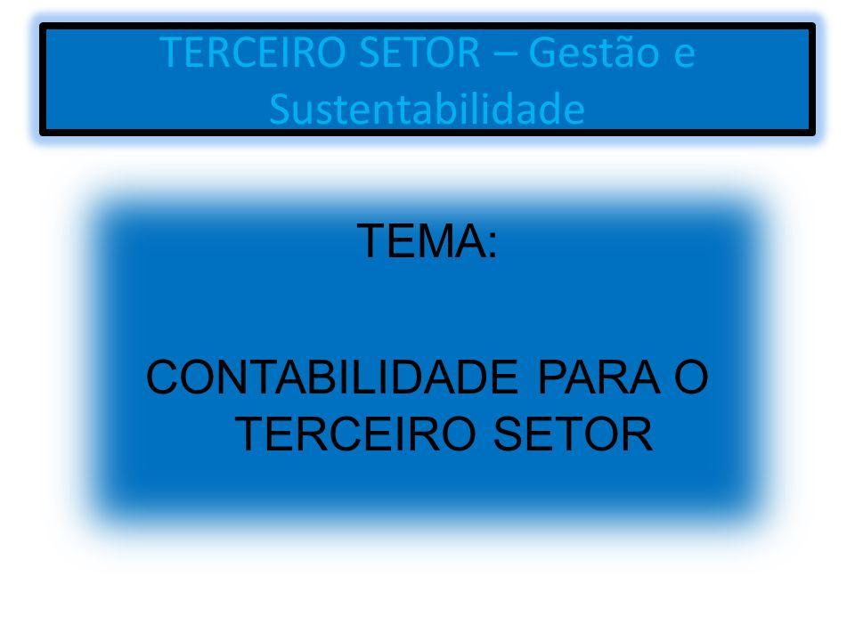 TERCEIRO SETOR – Gestão e Sustentabilidade
