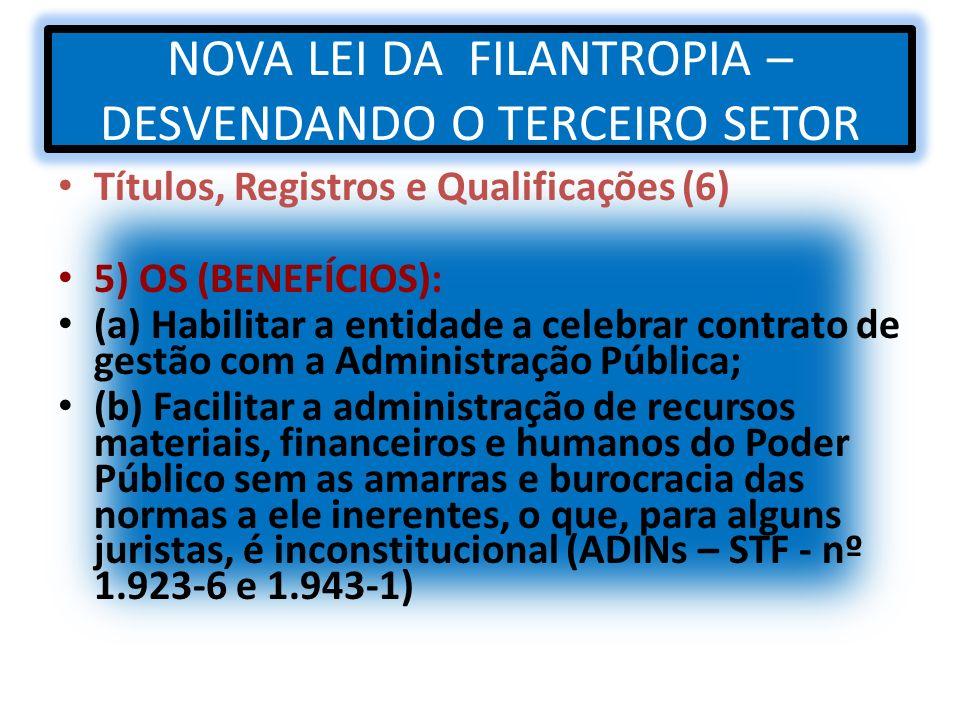 NOVA LEI DA FILANTROPIA – DESVENDANDO O TERCEIRO SETOR